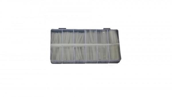 Schrumpfschlauch transparent 150tlg.