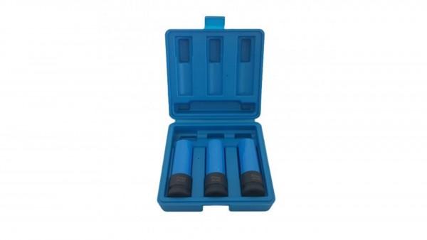 Schoneinsätze Kraftnüsse Schlagschraubernüse 3 x 17mm