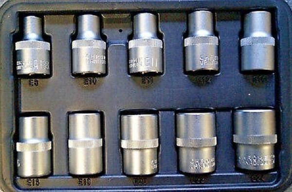 Bit-Einsätze E-Profil 10 tlg. Lang 38mm