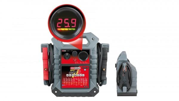 Batterie-Booster, mobiles Starthilfegerät 1400 A 12 V + 24 V