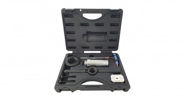 Montagewerkzeug für Stoßdämpfer mit Zuganschlagsfeder