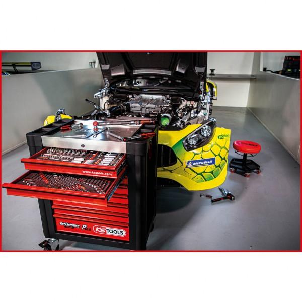 KS Tools PERFORMANCEplus P10 Werkstattwagen mit 8 Schubladen