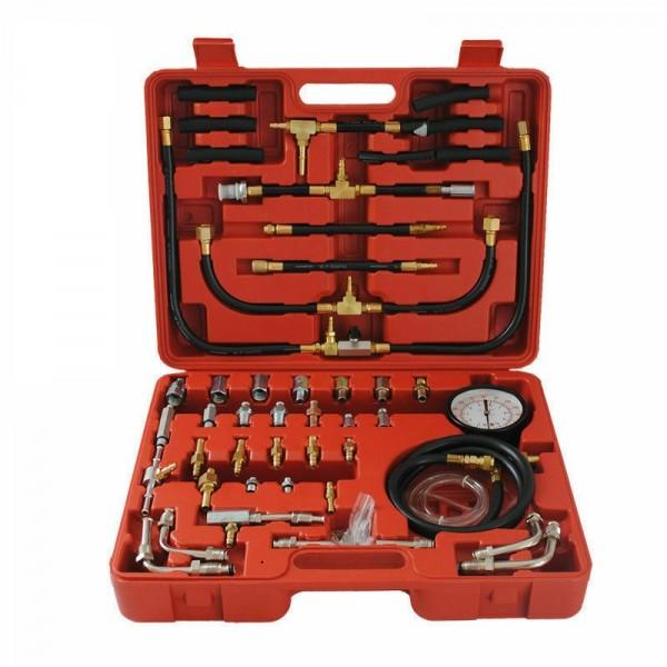 Benzindruck Drucktester Kompression Messer KFZ Werkzeug 0-10 Bar