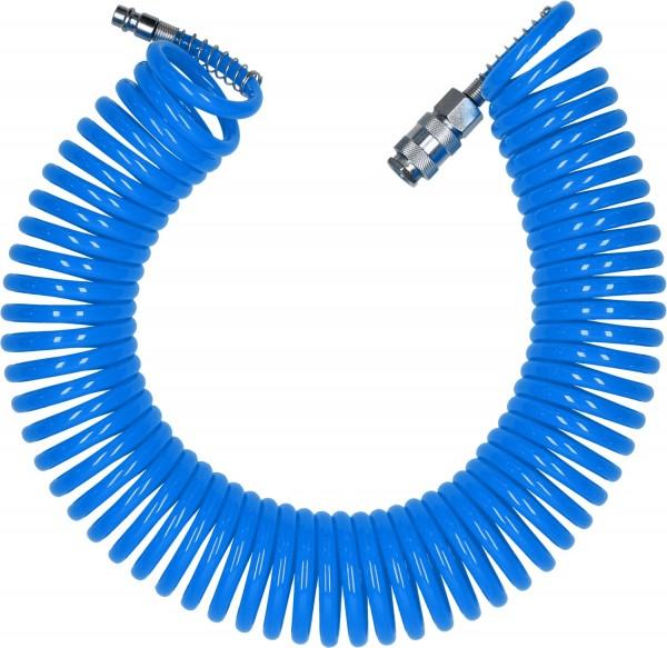 Druckluft Spiralschlauch 10m by KS Tools