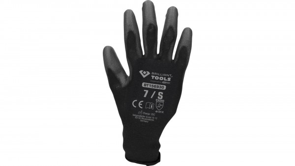 BRILLIANT TOOLS Mikro-Feinstrickhandschuhe Handschuhe