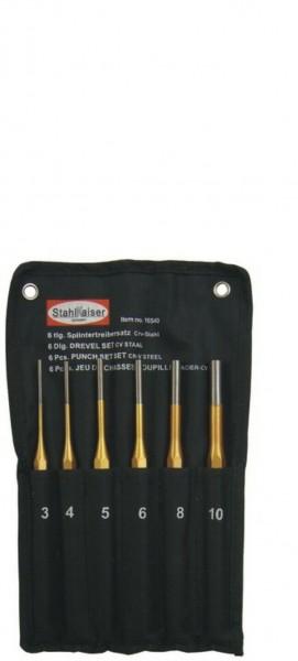 Splintentreiber-Set Durchchläge 6-tlg.