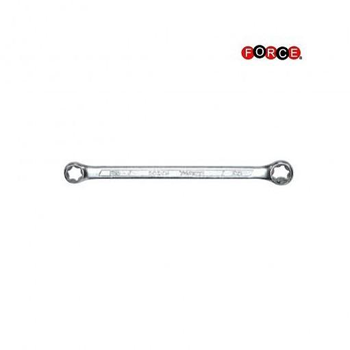 Doppelringschlüssel Force Torx-Schlüssel E20 x E24